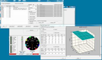GCU-3 calibration software screenshot
