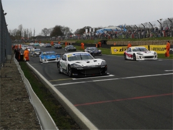 Ginetta G55 Supercup at Brands Hatch